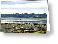 St Helens Beach To Bembridge Point Greeting Card