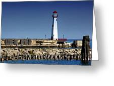 St. Ignace Lighthouse Greeting Card