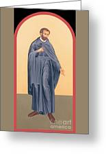 St. Isaac Jogues, Sj - Rlisj Greeting Card