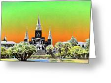 St. James Cathedral New Orleans Greeting Card