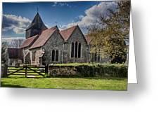 St James The Great Elmsted Greeting Card