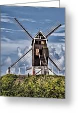 St. Janshuis Windmill Greeting Card