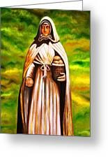 St Jeanne Jugan Of France Greeting Card