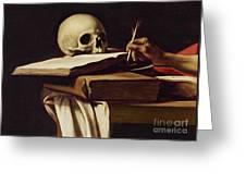 St. Jerome Writing Greeting Card