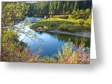 St. Joe River Greeting Card
