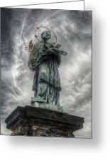St John Nepomuk Greeting Card