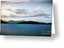 St John - Ocean Vista Greeting Card