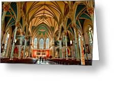 St John The Baptist Catholic Cathedral - Savannah Greeting Card