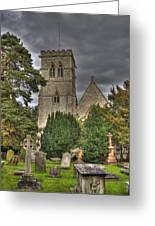 St John The Evangalist Stanmore Greeting Card