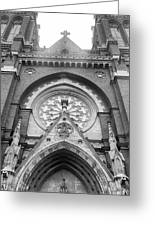 St. John's Cathedral In Helsinki, Finland. Greeting Card
