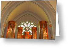 St. John's Cathedral Organ Greeting Card