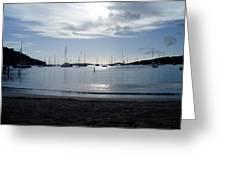 St. Johns Island Sunset Greeting Card