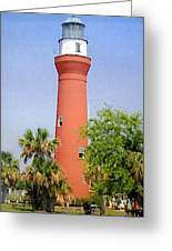 St Johns River Lighthouse Greeting Card