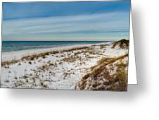 St. Joseph Peninsula Dunes Greeting Card
