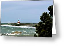 St. Joseph Pier Greeting Card