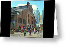 St Lawrence Market Greeting Card