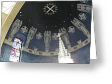 St Leo Angels Greeting Card