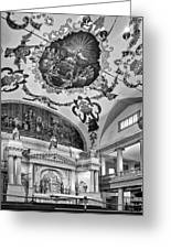 St. Louis Cathedral 2 Monochrome Greeting Card