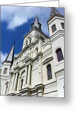 St. Louis Cathedral In The Afternoon Greeting Card