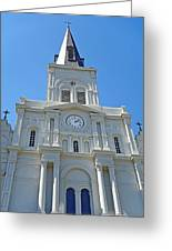 St. Louis Cathedral Study 1 Greeting Card