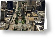 St. Louis Overview Greeting Card