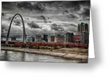 St Louis Riverfront Greeting Card