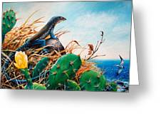 St. Lucia Whiptail Greeting Card
