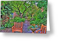 St. Luke Garden Sanctuary Greeting Card