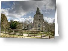 St Margaret Hothfield Greeting Card