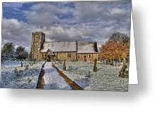 St Margarets Church Ridge Hertfordshire Greeting Card