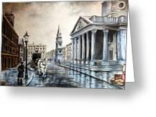 St Martins London Greeting Card