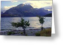 St. Mary Lake Greeting Card