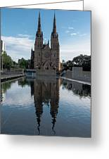 St Mary's Cathedral Greeting Card