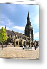 St Mary's Church At Lichfield Greeting Card