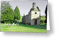 St Mary's Church At Mapleton Greeting Card