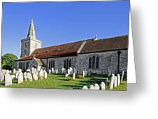 St Mary's Church - Brading Greeting Card