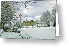 St Mary's Churchyard - Tutbury Greeting Card