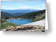 St Marys Glacier Colarado Usa Greeting Card