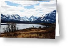 St. Mary's Lake Greeting Card