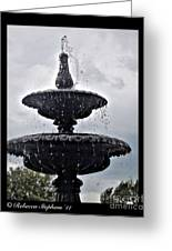 St. Mary's Water Fountain Greeting Card