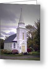 St. Mathews Chapel In Sugar Hill Greeting Card