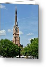 St. Matthew's German Evangelical Lutheran Church In Charleston Greeting Card