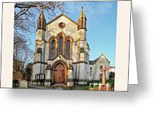 St Michael And St George R.c Church - Lyme Regis Greeting Card