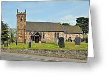 St Michael's Church At Willington Greeting Card