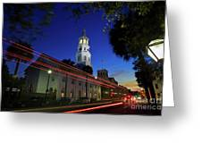 St. Michael's Episcopal Church In Charleston, South Carolina Greeting Card