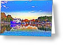St. Michael's Marina Greeting Card
