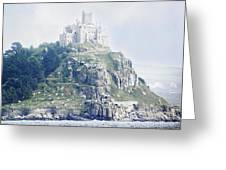 St Michael's Mount Cornwall England Greeting Card