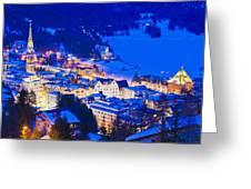 St. Moritz Greeting Card