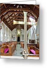 St Mylor Altar Cross Greeting Card