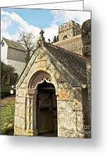 St Mylor And Bell Tower Greeting Card